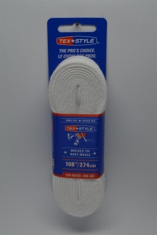 #2001MT Solid White Referee Lace