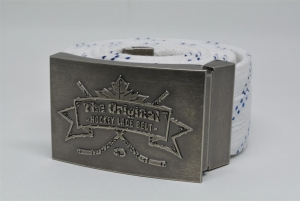 The Original Hockey Lace Belt - Buckle