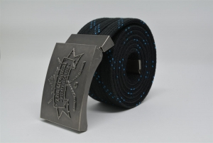 The Original Hockey Lace Belt - Black