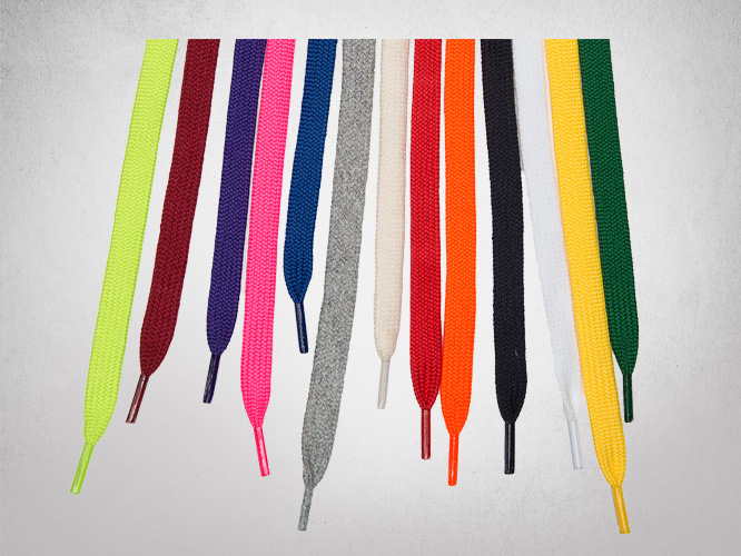 Assorted Flat Laces Drawcords Manufacturer Toronto